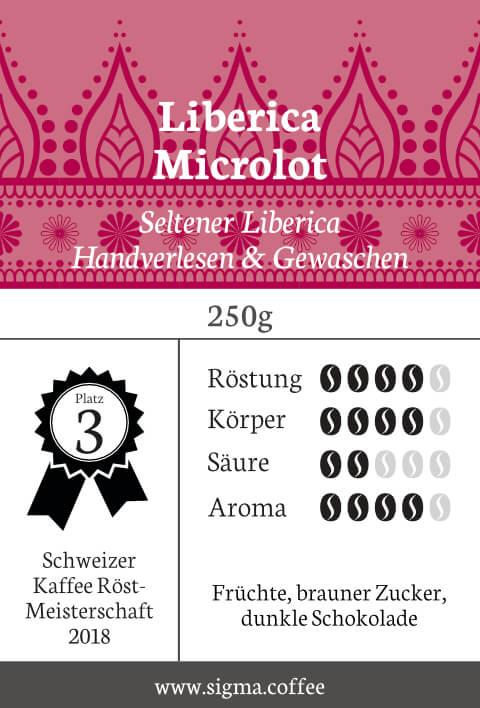 Liberica Microlot